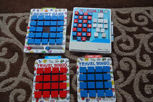 Melissa and Doug wooden travel games