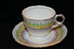 ROYAL STAFFORD TEA CUP & SAUCER - GLENDALE'S