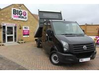 2015 VOLKSWAGEN CRAFTER CR35 TDI 136 DOUBLE CAB ALLOY TIPPER TIPPER DIESEL