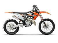KTM SX 125 2021 MOTOCROSS BIKE BRAND NEW