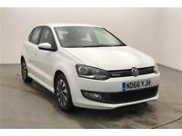 2017 Volkswagen Polo BlueMotion 1.0 TSI 95PS 5-speed Manual 5 Door Petrol white