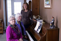 $25 per hour--ADULT RECREATIONAL PIANO LESSON CLASSES