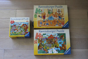 """ RAVENSBURGER "" PUZZLES FOR KIDS"