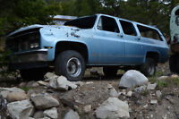 Complete rolling chassis 1990 Chev 4x4 1/2 ton