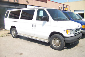 2002 FORD E-350 ALLONGE DIESEL 7.3L (location350$+TX)