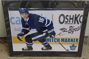 "TORONTO MAPLE LEAFS   MITCH MARNER  ""MATTED"""