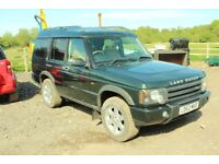 Discovery TD5 £2500