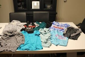 10 girls size 7/8 tops