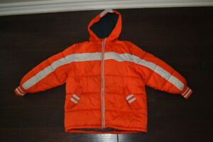 Boys Size 8 puffy winter jacket from Old Navy
