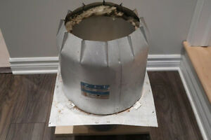 Protecteur isolant pour cheminée 7 po.