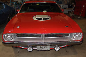 1970 cuda original 383 car