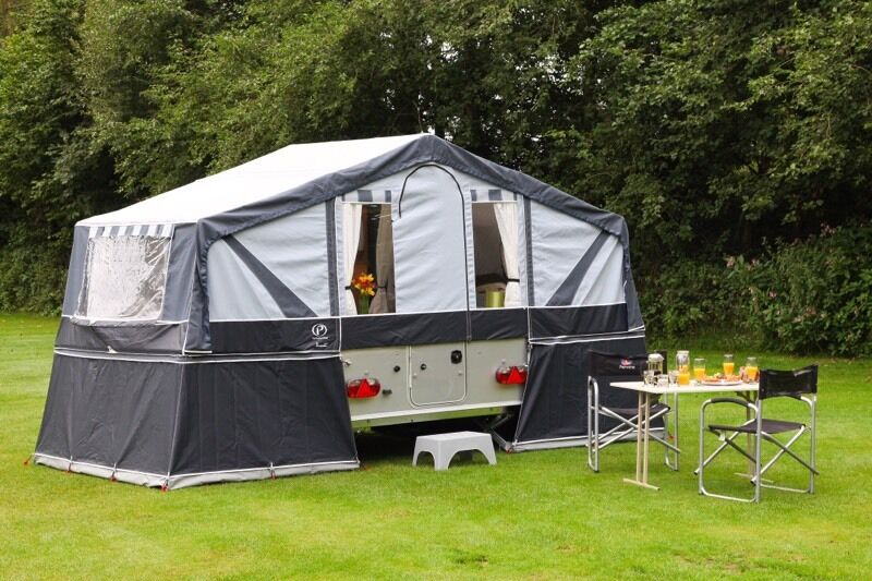 Pennine Conway Countryman Folding Trailer Camper In Mold