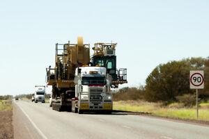Heavy equipment shipping in British Columbia