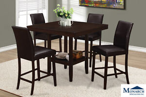 New Pub Height Dinette with Upholstered Chairs Call 905-492-3900