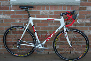 Trek Early Carbon Fibre High End Road Racing Bicycle. FAST!