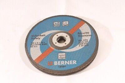 2 Piece Sanding Disc Schrubbscheibe Berner 180 X 6 X 222
