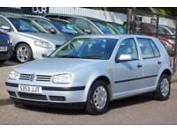 1998 VOLKSWAGEN GOLF 1.6 SE 5D AUTO 99 BHP