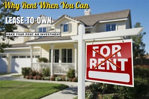 Why Rent When You Can Own It With Investor In Windsor/London!