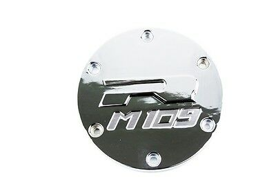 (Derby Covers For 06-13 Boulevard M109R CHROME Motorcycle Billet Aluminum)
