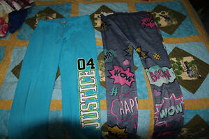Girls Size 10-12 Sweats / Leggings, Denim dress, t-shirt hoodie