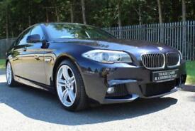 2011 11 BMW 5 SERIES 2.0 520D M SPORT 4D AUTO 181 BHP DIESEL