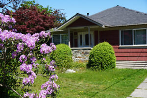 Classic Squamish Home for Rent in the Downtown Area.