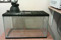tank cover and light fixture for sale