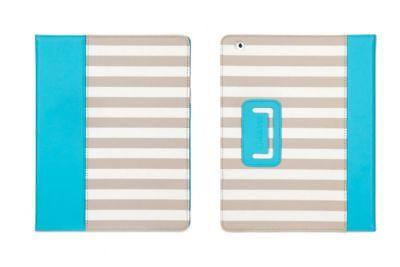Griffin Elan Folio Cabana, für iPad 4, 3 & 2, Blau/Gestreift Griffin Elan Folio