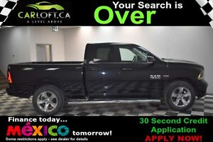 2015 RAM 1500 SPORT QUAD 4X4 - LOW KMS**LEATHER**NAV