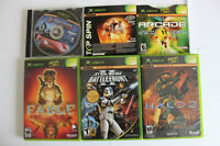 Xbox System with controllers and Games