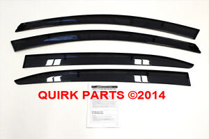 2014-Mazda3-Side-Window-Deflectors-Genuine-OEM-NEW-Part-BHN1-V3-700