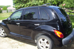 2001 Chrysler PT Cruiser Limited Edition  5 Speed Leather