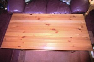 JUST REDUCED !!! Great Coffee Table with storage shelves