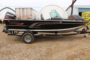 NEW NEVER USED ALUMACRAFT VOYAGEUR 175 SPORT TO CLEAR !