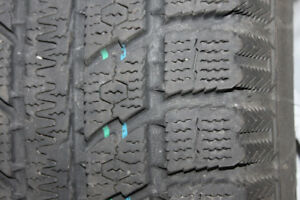 Set of 4 winter tires.