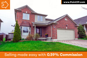 North London beauty with large lot and plenty of upgrades!