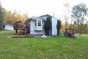 Large home on 7 acres of land, 2 titles, zoning for farm animals Prince George British Columbia image 2