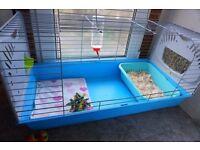 INDOOR pet cages Rabbit Guinea Pig Rat Blue