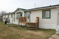 Beautiful 1520 sq. ft.Manufactured Home on Huge Lot in Stirling!