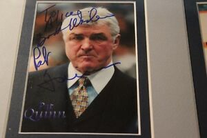 PAT QUINN & JEFF JACKSON Signed Photos(VIEW OTHERS ADS)