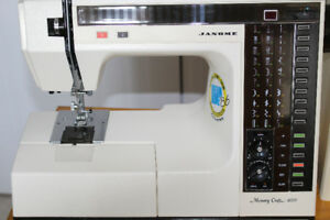 Janome 6000 Memory Craft Sewing Machine (High Quality)