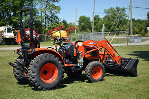 NEW- Kioti CK4010 Compact Tractor with loader