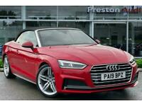 2019 Audi A5 Cabriolet S line 40 TFSI 190 PS S tronic Auto Convertible Petrol A