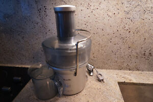Breville Juice Fountain Compact Centrifugal Juicer - Silver