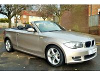BMW 125i 3.0 SE 2008 54K MILES, FULL S/HISTORY, NEW MOT, LEATHER