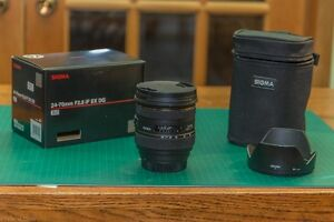 Canon DSL lens