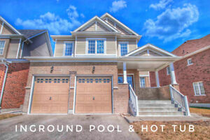 Less than 5 Years New Home w/ Awesome Salt WaterPool & HotTub