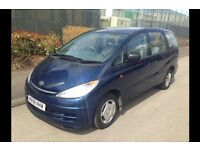 Toyota previa automatic 8 seater 2000 7 months mot lpg fitted