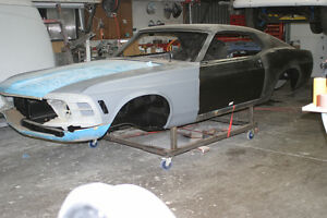 1970 Ford Mustang Mach 1 - Project car