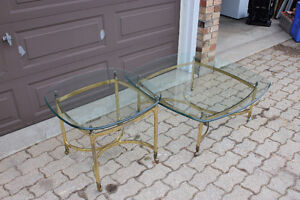 2-piece glass top living room set London Ontario image 3